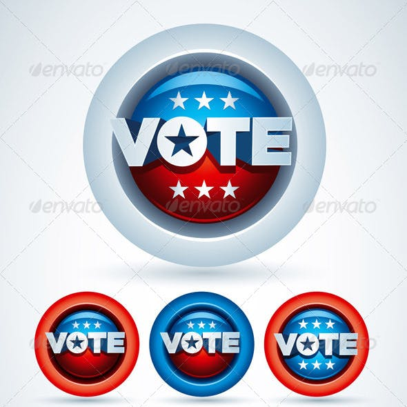 Vote Badge Collection