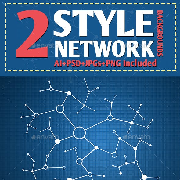 2 Style Network Backgrounds
