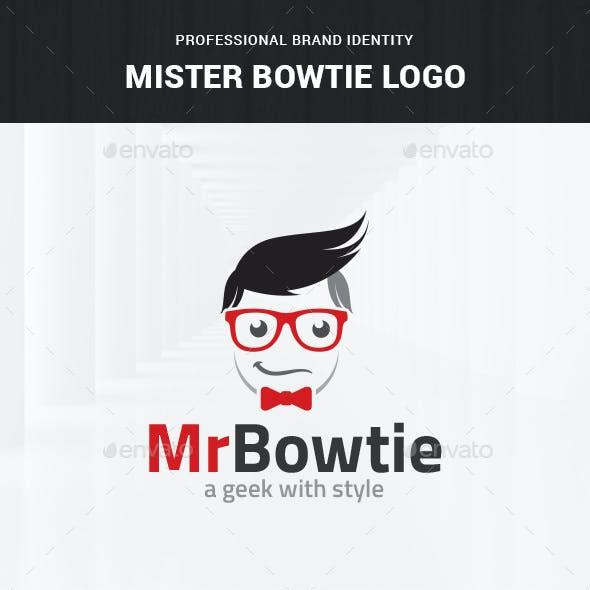 Mister Bowtie Logo Template