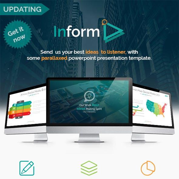 INFORM - Multipurpose Presentation Template