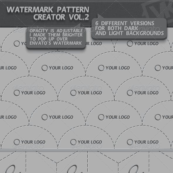 Watermark Pattern Creator vol.2