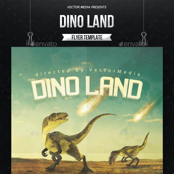 Dino Land - Movie Poster