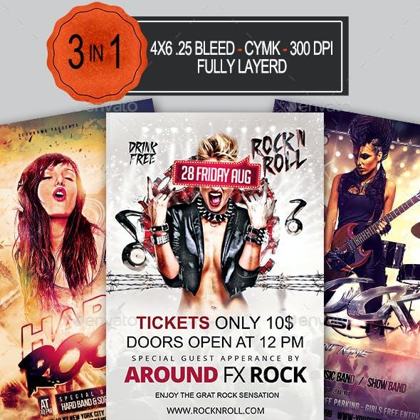 Rock Flyer Bundle