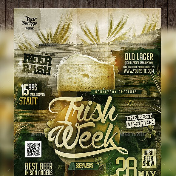 Irish Beer Week Flyer