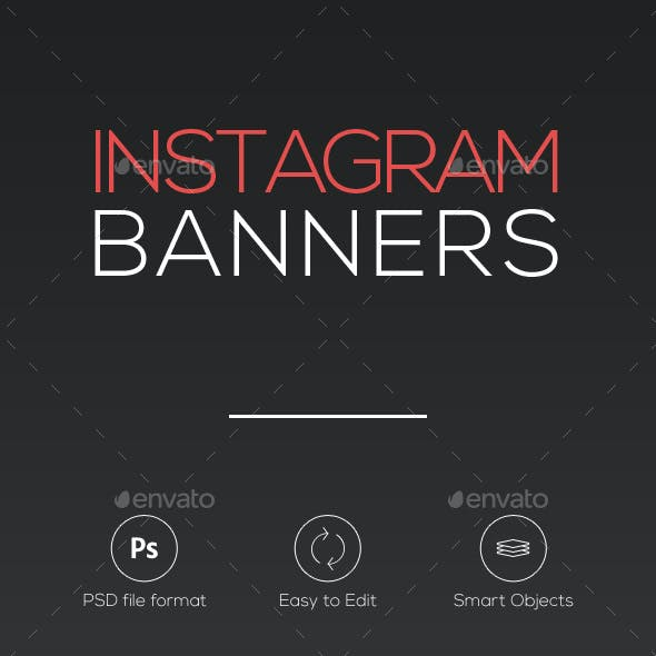 10 Instagram Banners vol.2