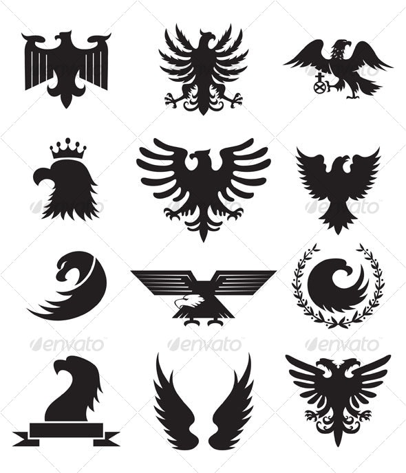Eagles Design - Animals Characters