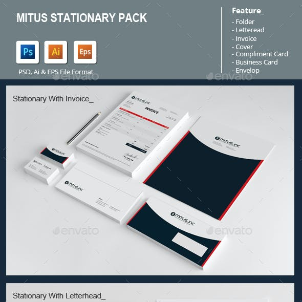 Mitus Stationary Pack