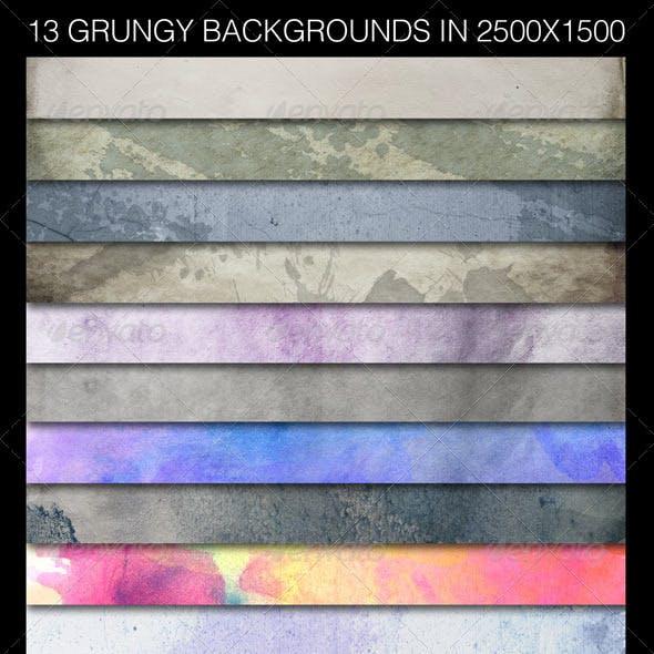 13 Hi-Res Backgrounds