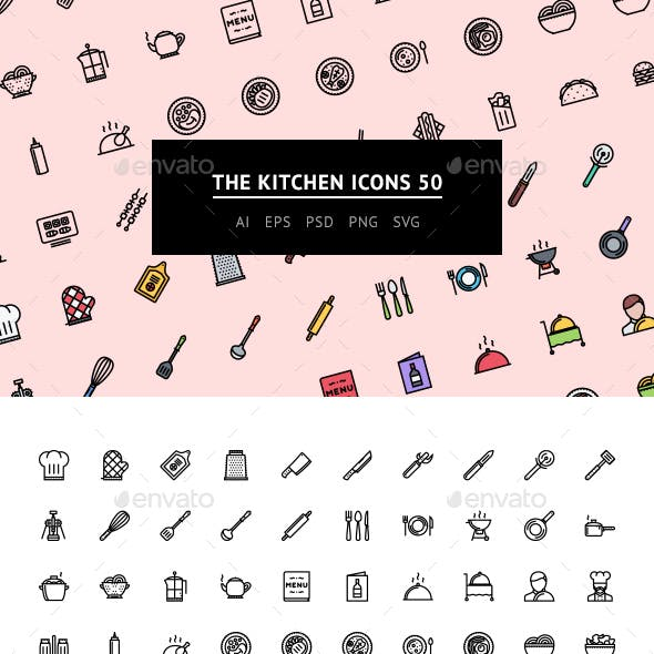 The Kitchen Icons 50