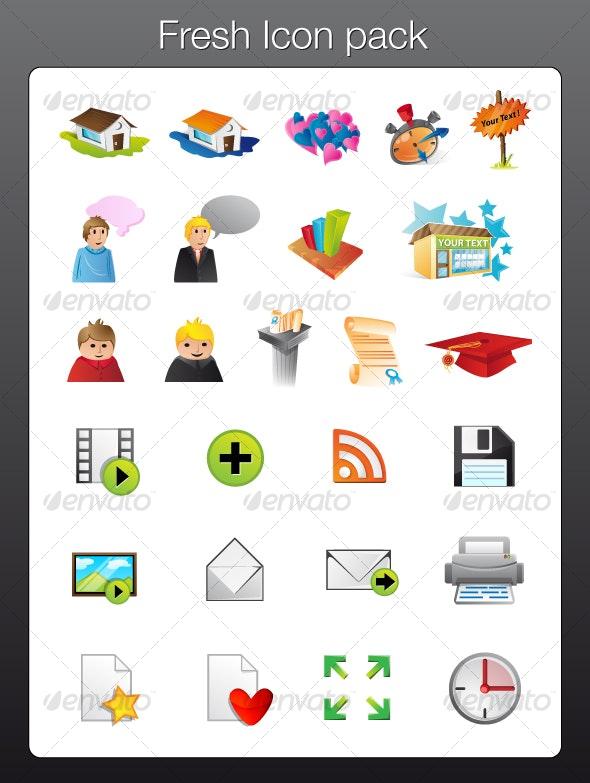 Fresh icons pack - Web Icons