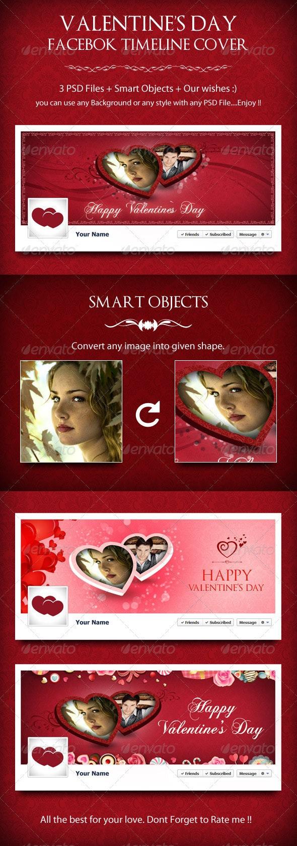 Valentine's Day Timeline Cover - Facebook Timeline Covers Social Media