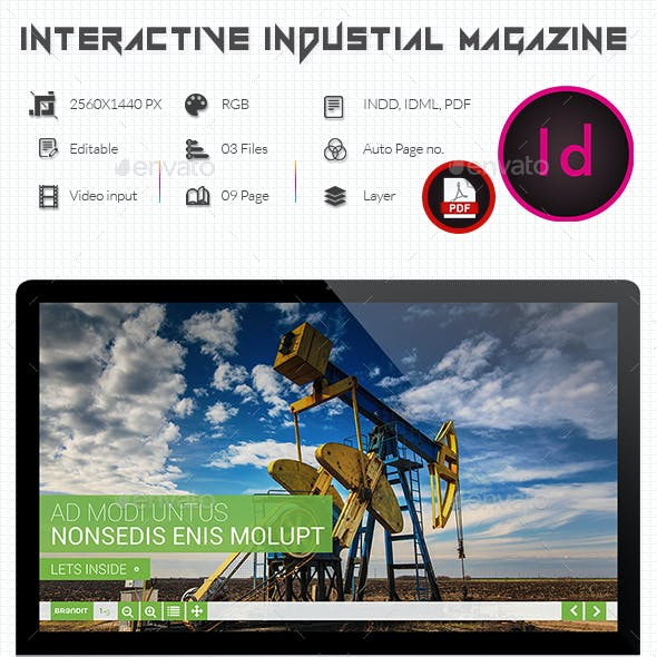 Interactive Industrial PDF Magazine