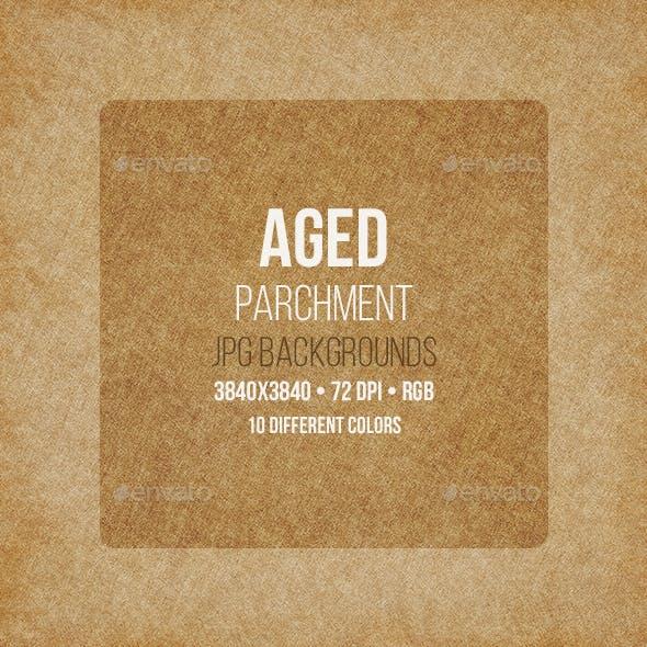 Aged Parchment Backgrounds