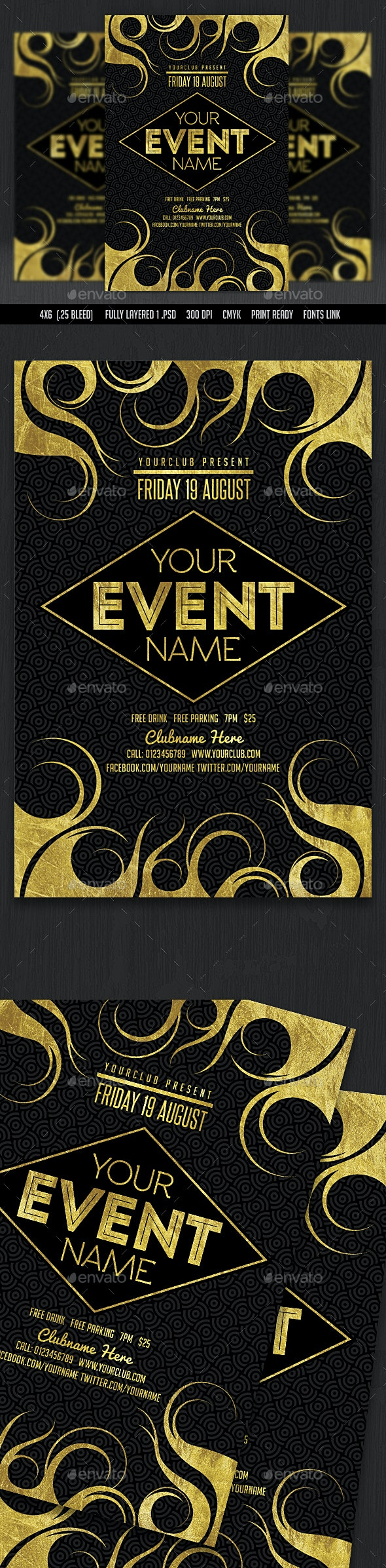 Event Flyer - Events Flyers