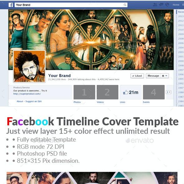 Professional Facebook Timeline