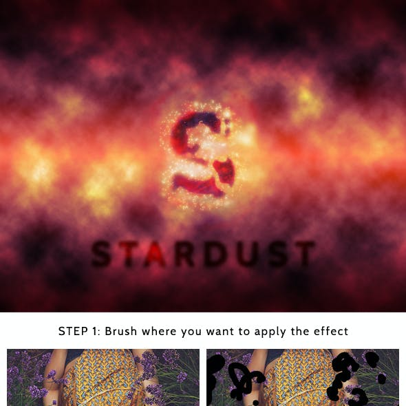 Star Dust Photoshop Action