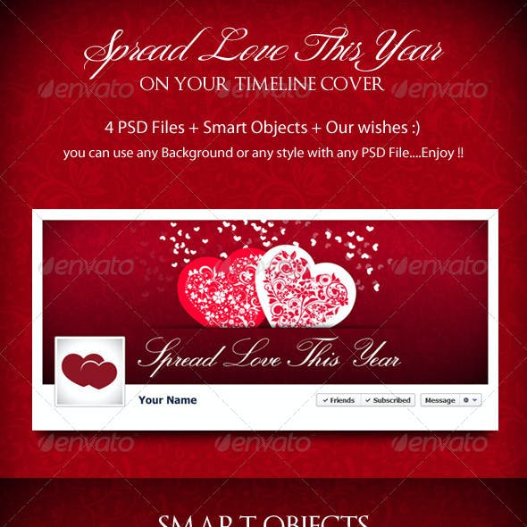 Spread Love This Year - Timeline Cover