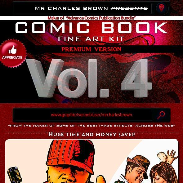 Comic Book Fine Art v4