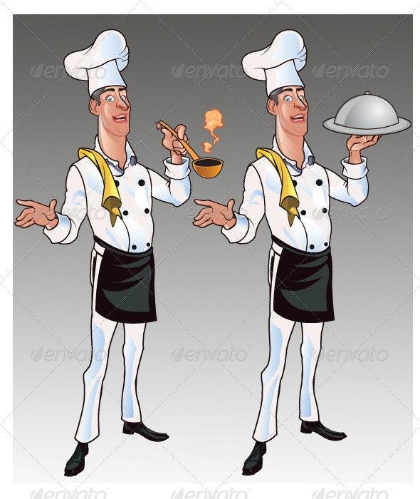 Chef Cartoon - People Characters