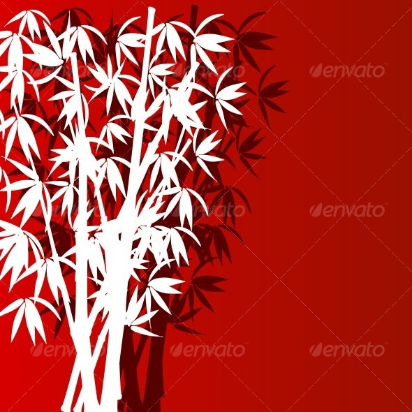 bamboo silhouette - Flowers & Plants Nature