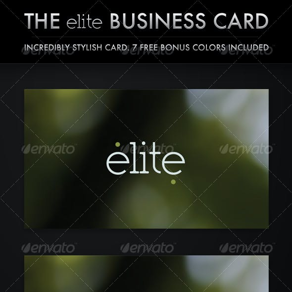 The Elite Business Card (8 in 1)