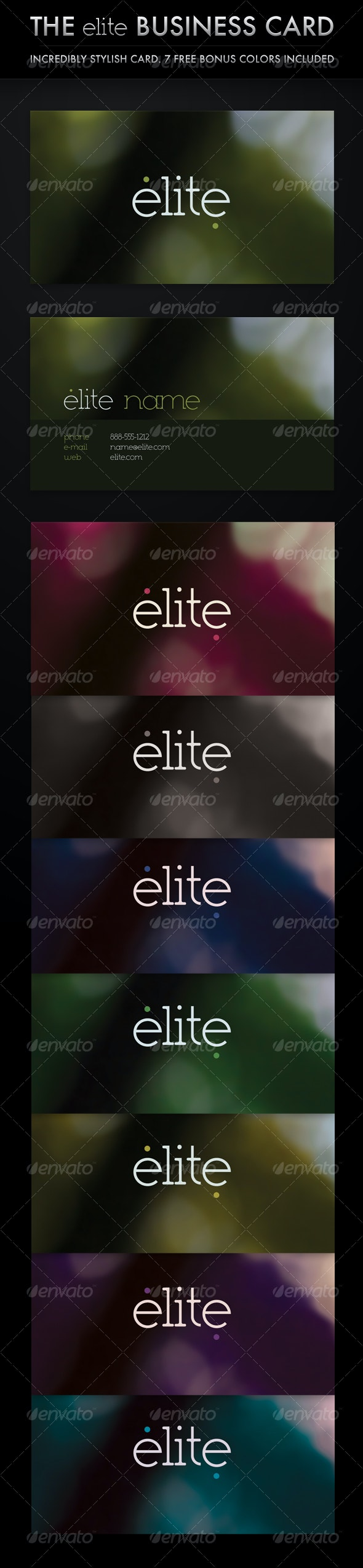 The Elite Business Card (8 in 1) - Creative Business Cards