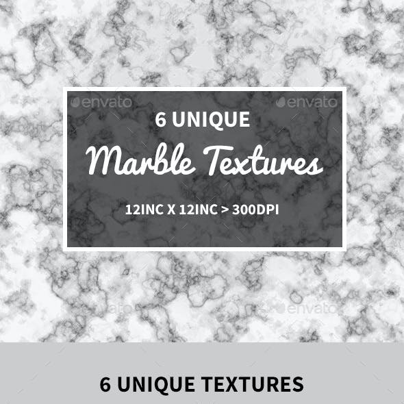 6 Marble Texture Background