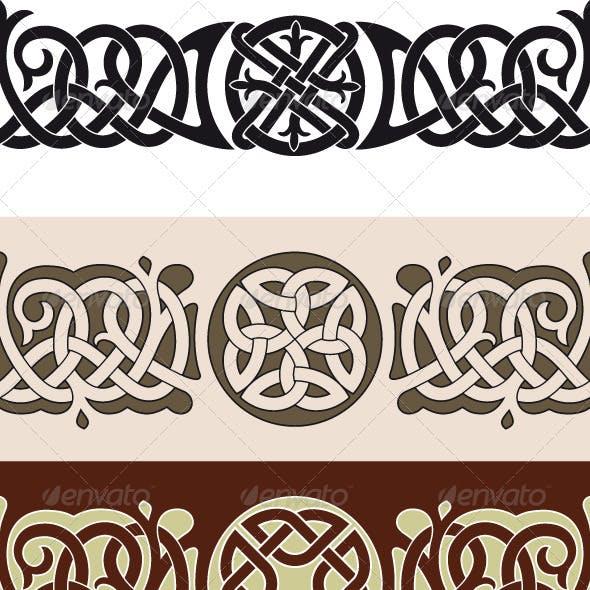 Celtic tattoo pattern