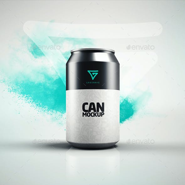 Can Mock-up / Drink Soda 330 ml