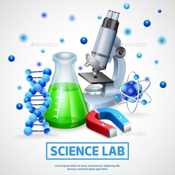 Scientific Laboratory Design Concept