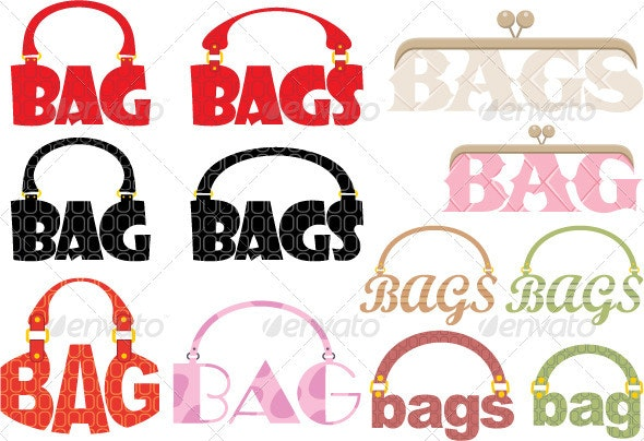 Word of bag in the form of a logotype - Commercial / Shopping Conceptual