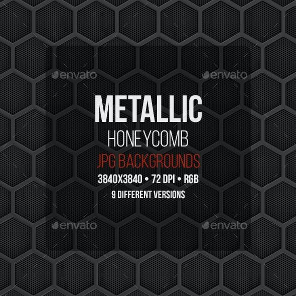 Metallic Honeycomb Backgrounds