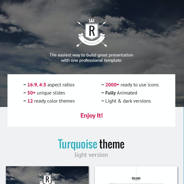 Roland – Premium Photo-based Template