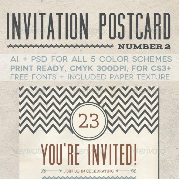 Invitation Postcard 2