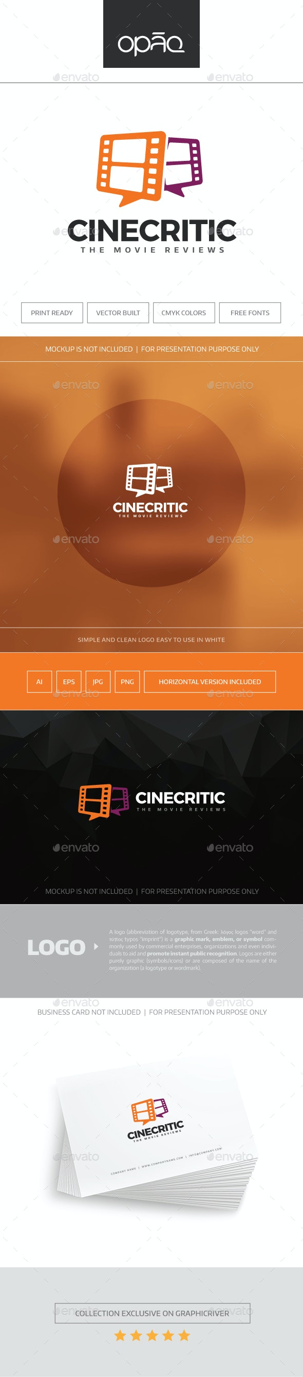 CineCritic Logo - Symbols Logo Templates