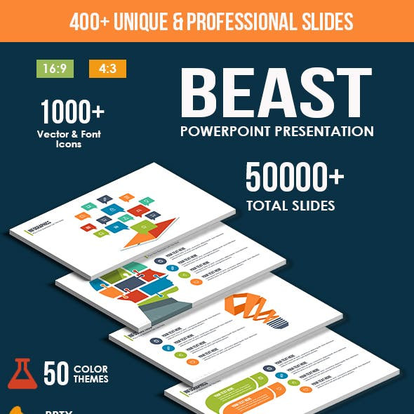 Beast Powerpoint Presentation Template