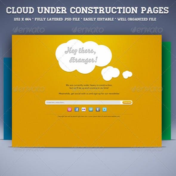 Cloud Under Construction Page