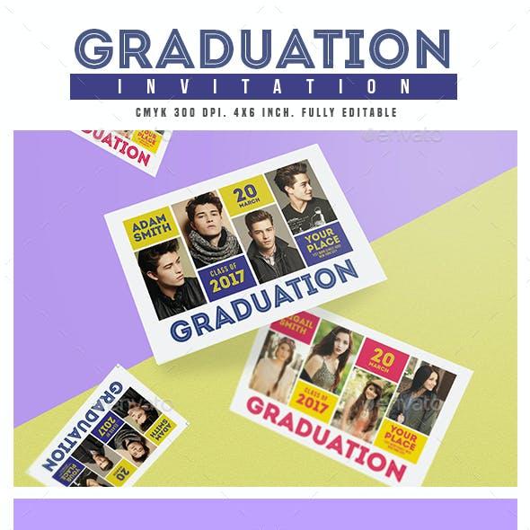 Graduation Invitation by Guuver