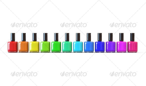 Nail Polish 3D Render - Objects 3D Renders