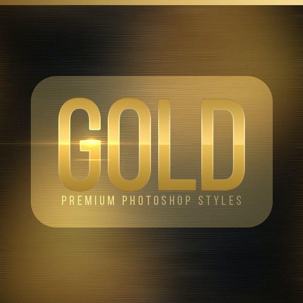 Elegant Golden Styles