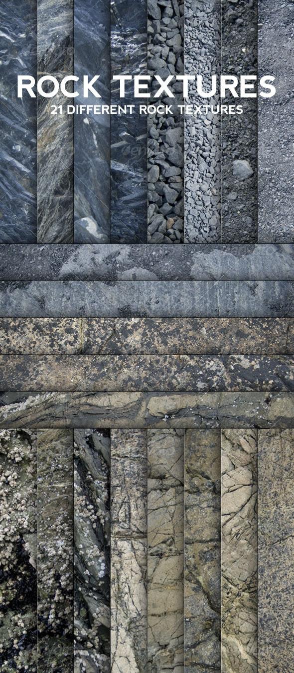 21 Hi-Res Rock Textures - Stone Textures