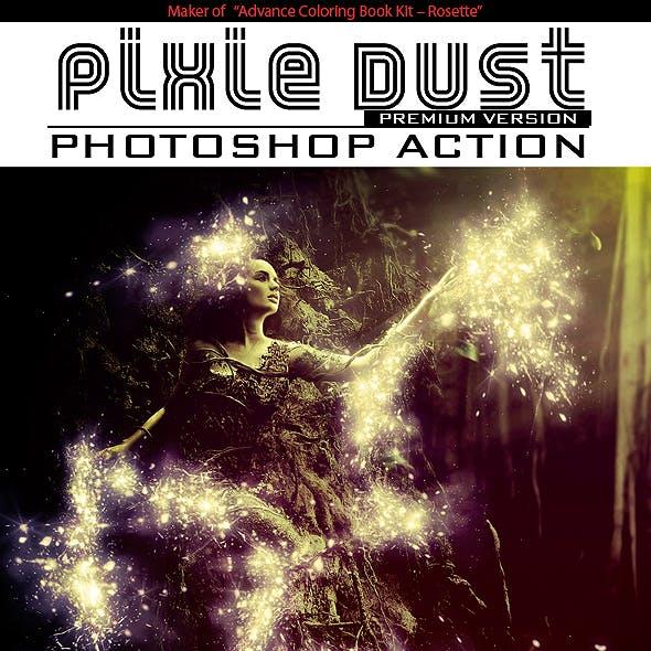 Pixie Dust Photoshop Action
