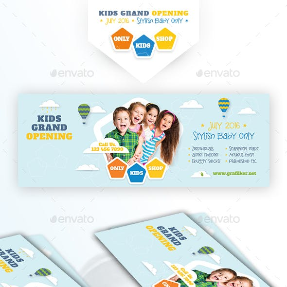 Kids Store Cover Templates
