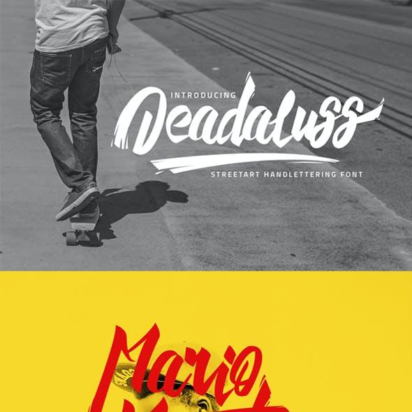 Deadaluss Typeface