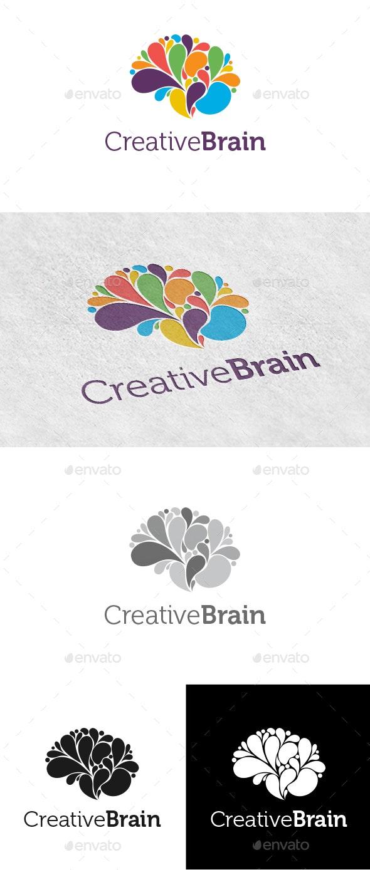 Creative Brain Logo - Logo Templates