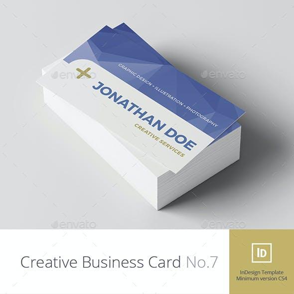 Creative Business Card No.7
