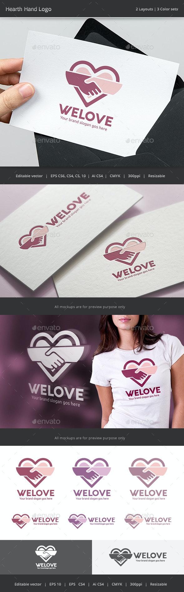 Hearth Hand Love Logo
