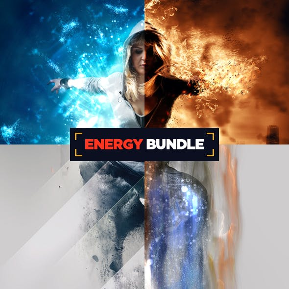 Energy Bundle Photoshop Actions CS3+