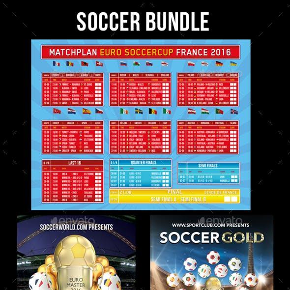 Soccer Flyer Bundle