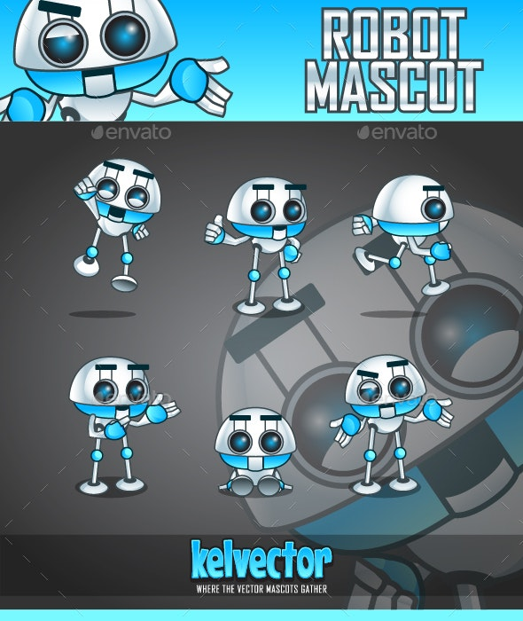 Robot Mascot - Miscellaneous Characters